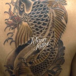 鯉|紅葉のタトゥー|刺青作品