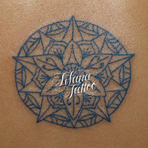 曼荼羅の刺青作品