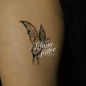 蝶のTRIBAL TATTOO