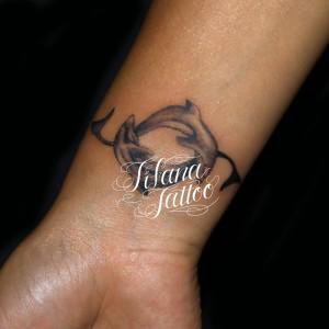 イルカのタトゥー