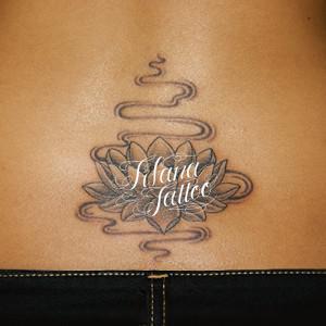 蓮の刺青作品