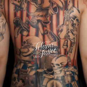 スカル|ドクロのタトゥー