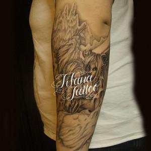 悪魔のタトゥー