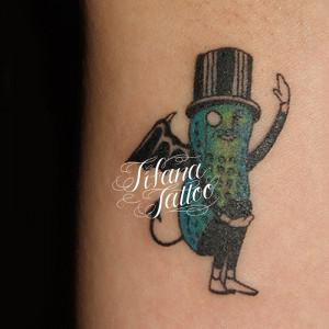 Mr.Peanut Tattoo