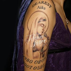 歌うマリア様のタトゥー