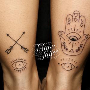 ハムサのタトゥー