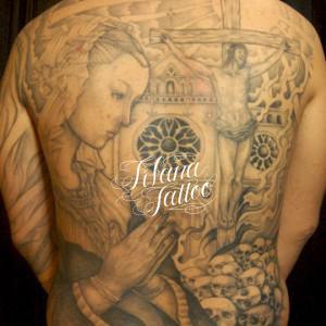 マリア様|キリストのタトゥー