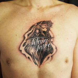 死神の刺青作品