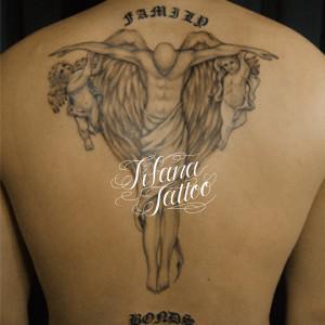 天使|神様のタトゥー