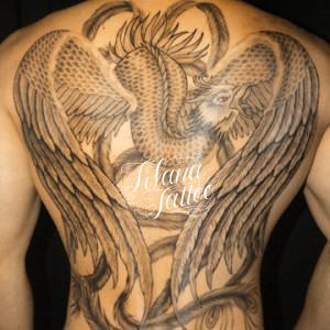 鳳凰のタトゥー