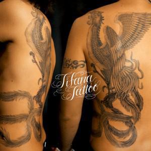 鳳凰のタトゥー|刺青作品