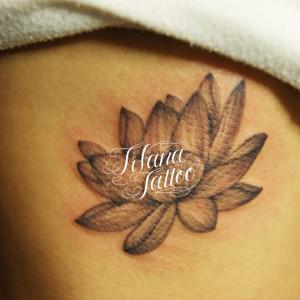 蓮のタトゥー|刺青作品画像