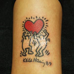 Keith Haring Tattoo