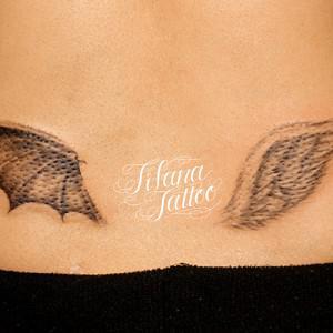 悪魔|天使の翼のタトゥー