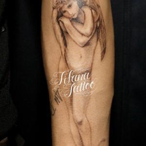 ブグロのキューピットのタトゥー|製作中