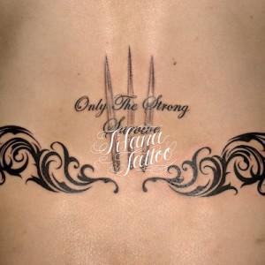 Symmetry Tribal Tattoo