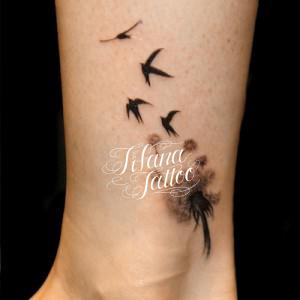 たんぽぽ|燕のタトゥー