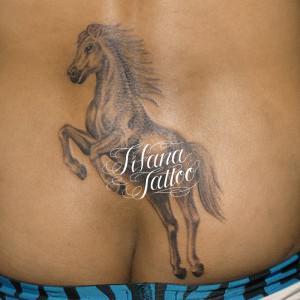 馬のタトゥー
