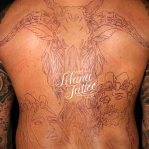 Back Piece Tattoo/製作中