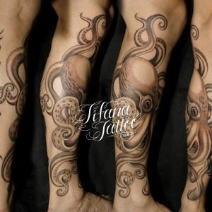 タコ|蛸のタトゥー