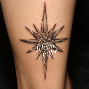 Shinny Star Tattoo