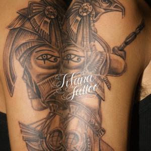 ホルスのタトゥー