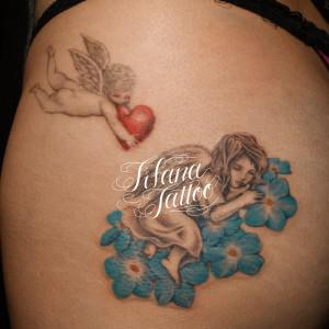 天使のタトゥー