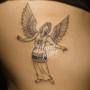 女神のタトゥー