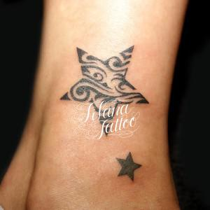 Tribal Star Tattoo