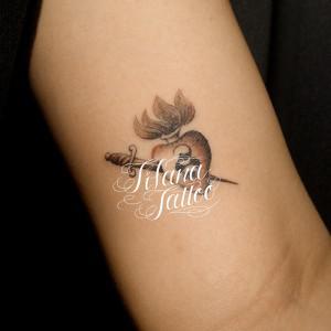 聖なる心臓のタトゥー