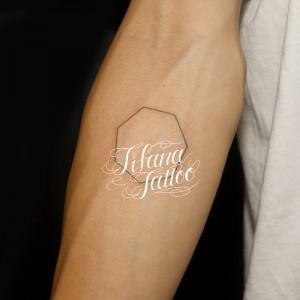 図形のタトゥー