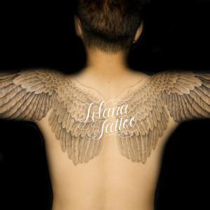 Symmetry Wing Tattoo