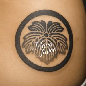 家紋の刺青