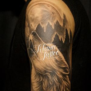 狼|WOLFのタトゥー