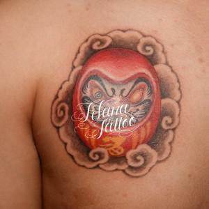 達磨の刺青作品
