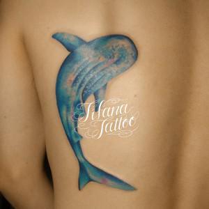 ジンベエザメのタトゥー