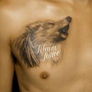 狼|オオカミのタトゥー