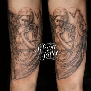 女神|天使のタトゥー