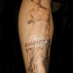 Broken Statue Tattoo