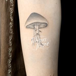 きのこのタトゥー
