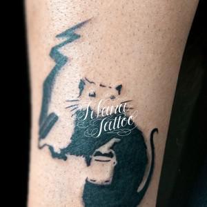 ネズミ|鼠のタトゥー