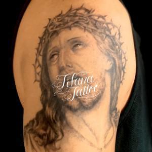イエスキリストのタトゥー