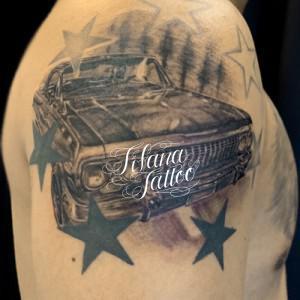インパラ|旧車のタトゥー