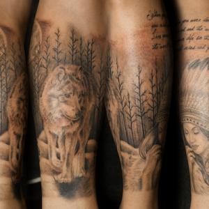ネイティブ・アメリカン・タトゥー