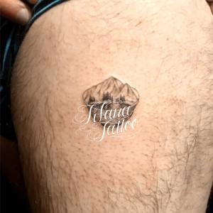 ラーメンどんぶり|山のタトゥー