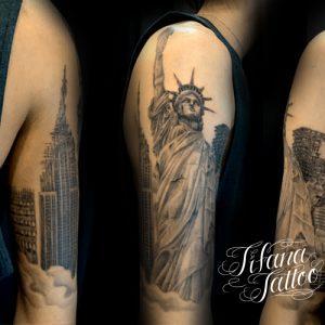 NEW YORKのランドマーク・タトゥー