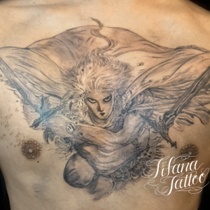 ファイナルファンタジーのタトゥー