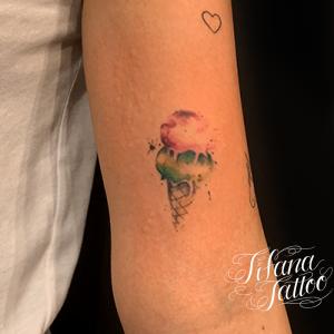 アイスクリームのタトゥー