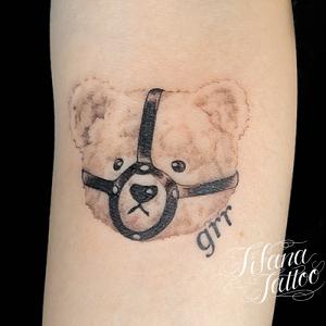 熊のタトゥー